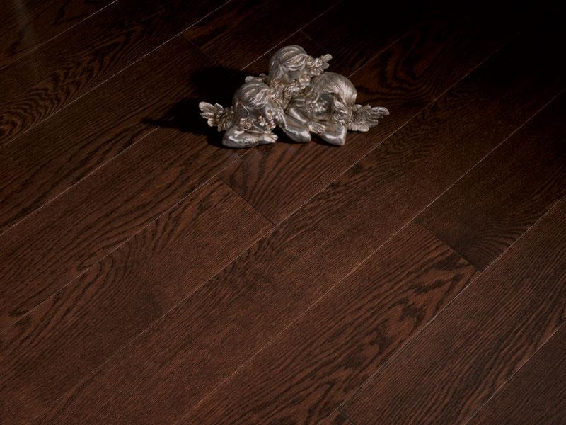 Dark Chocolate Signature Oak Flooring Coswick Hardwood