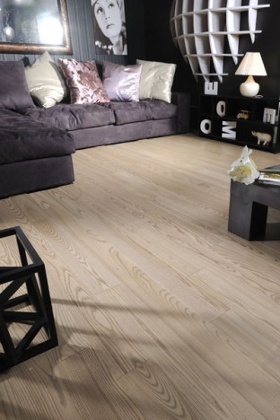 Pearl Grey | Signature Ash Hardwood | Coswick Hardwood Floors