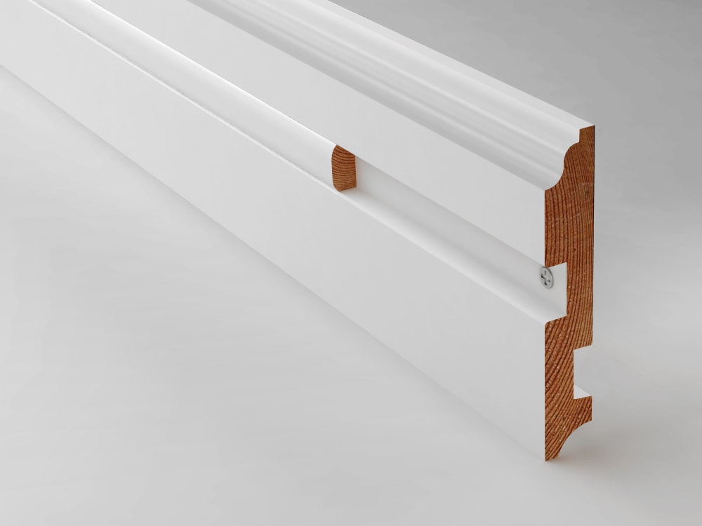 Baseboard height gallery of floor to top of fintube with Baseboard height
