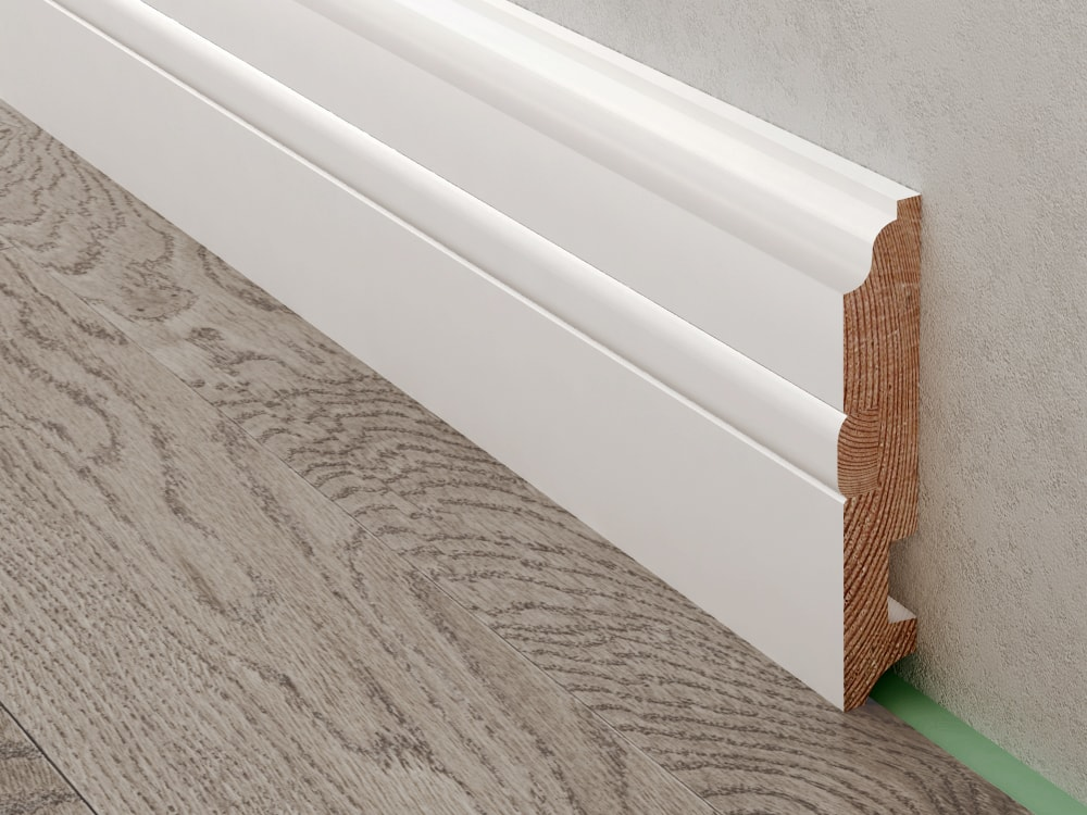 Coswick Baseboard Of Extended Height 12020mm It Is Recommended For Use In Rooms With High Ceiling And Doorways The Length 2100mm