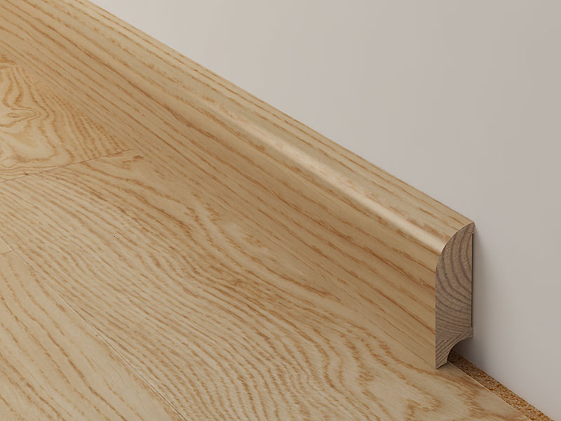 Baseboard Comes Prefinished In All Coswick Colors Styles And Surface Finishes To Follow The Color Match Of Walls Floor Doors