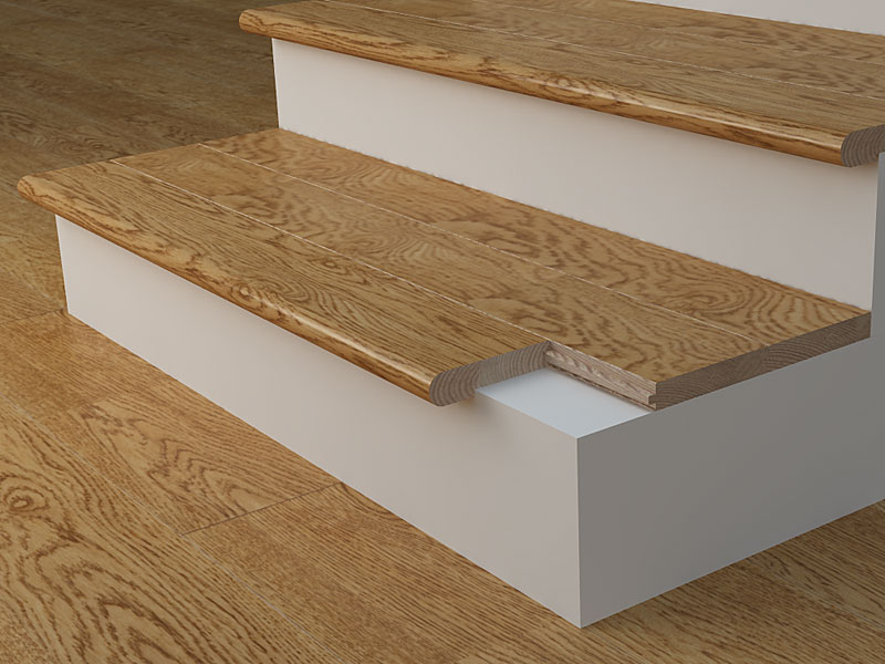 Stair Nosings Moldings Installation Coswick Hardwood Floors