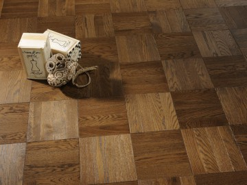 Oak Milk Chocolate - Uniblock Flooring Collection