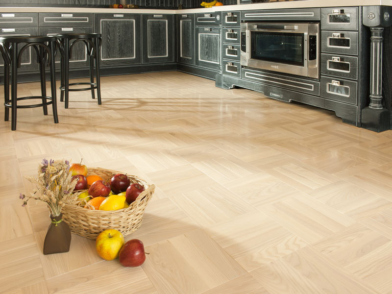 Hardwood Flooring In The Kitchen: Pros And Cons - Coswick.Com