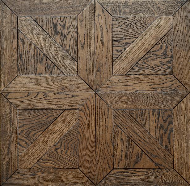 Line Art Floors : Coswick debuts a line of mosaic wood floors