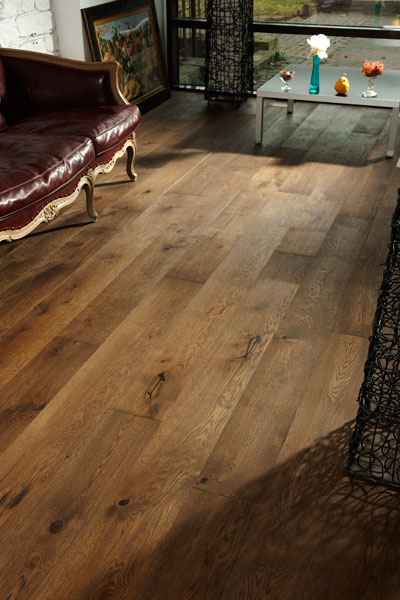 Wide plank flooring Oak Venice