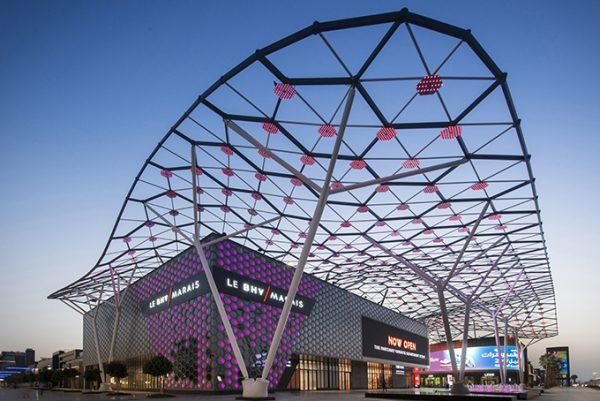 Galeries Lafayette, Dubai