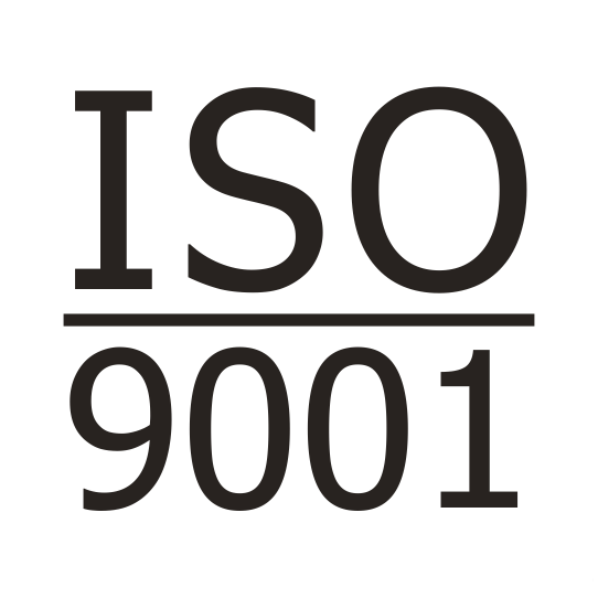 certificate of conformity on correspondence to iso 9001 standard