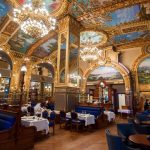 """Chevron"" Coswick at the French restaurant Le Train Bleu in Doha"